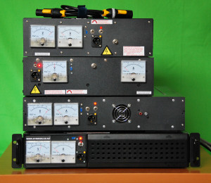 High voltage battery chargers