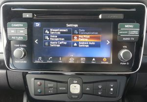 Nissan Leaf ZE1 Head Unit